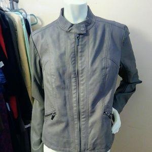 Vegan Leather Xhilaration Moto Jacket Sz. XL